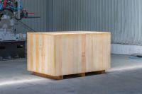 Skrzynie drewniane pełne