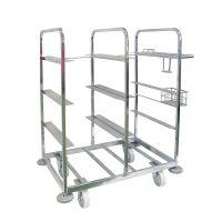 Wózek do komisjonowania, 1085x700x1170 mm, bez pojemników