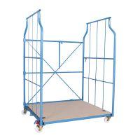 Corletta standard - wózek magazynowy do transportu ręcznego 1300x1150x1800 mm - 600 kg