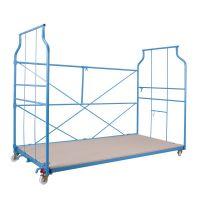 Corletta standard - wózek gniazdowy do transportu ręcznego 2500x1150x1800 mm - 600 kg