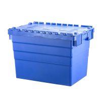 Plastikowy pojemnik z pokrywą na zawiasach 600x400x416mm