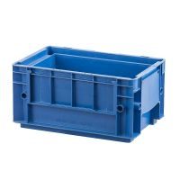 Pojemnik RL-KLT 3147 o wymiarach 297x198x147,5mm, niebieski, PP, wzmacniany