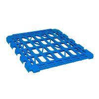 Plastikowa półka do wózków siatkowych 2 ściennych o nośności 150 kg