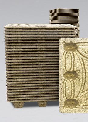 Palety kartonowe - jednostronny transport produktów