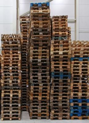Wykup palet drewnianych - palety używane i uszkodzone